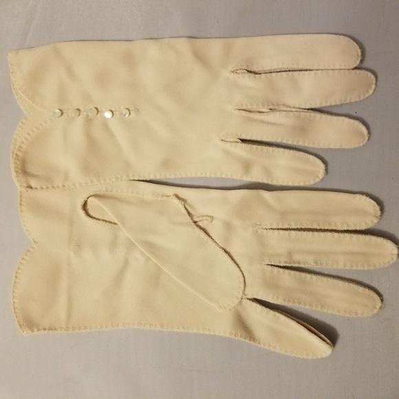 Vintage Ladies guanti rosa Guanti e muffole Guanti per